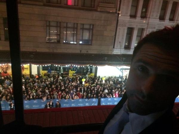 david at state theatre sydney premiere The Rover